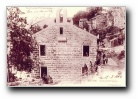 photo du temple protestant à Aullène, juin 1905