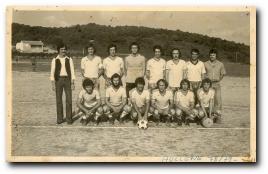 photo de l'équipe de foot d'Aullène de 1979