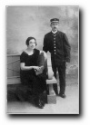 Simon 'Pizzica'casgiu' Poli et son épouse Berthe