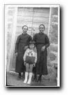 Anna Maria, Joséphine et Jean Baptiste 'Pizzica'caggiu' Poli