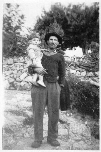 Petru Lucchini di Rusponu à Ghjannucciu en 1955